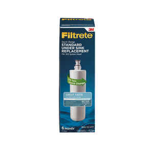 3M  Filtrete  For Under Sink Replacement Water Filter  For Filtrete Standard Under-Sink Water Filtra