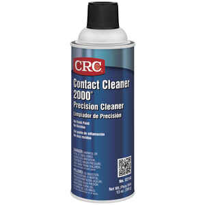 CRC  Contact Cleaner 2000  Chlorinated Electrical Parts Cleaner  16 oz.