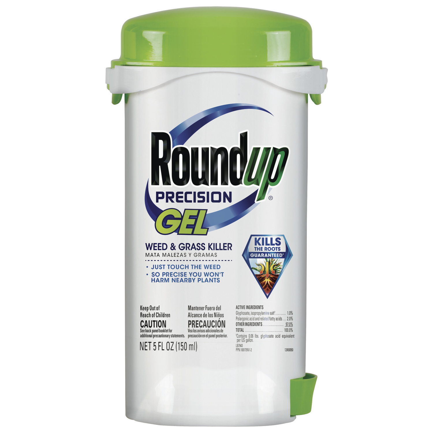 Roundup  Precision Gel  RTU Liquid  Weed and Grass Killer  5 oz.