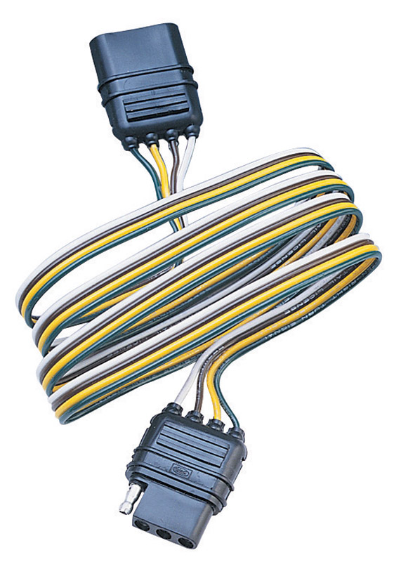Hopkins 4 Flat Trailer Wiring Extension 48 In