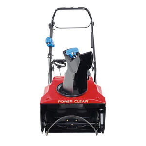 Toro  Power Clear  21 in. W 212 cc Single-Stage  Electric Start  Gas  Snow Thrower