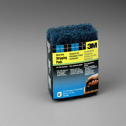 3M  5 in. L x 3-1/2 in. W x 1/2 in.  Coarse  Heavy Duty  Stripping Pad