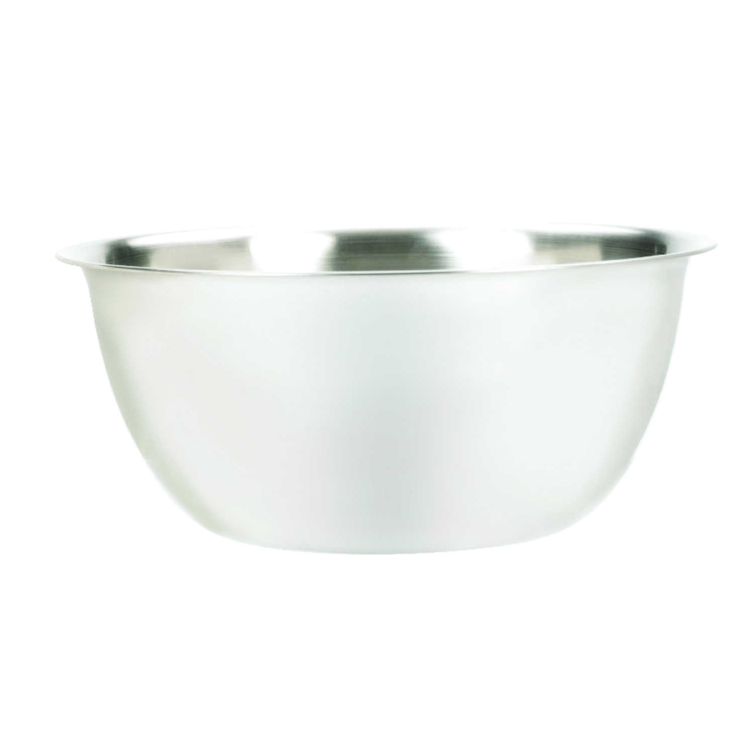 Fox Run  6.25 qt. Stainless Steel  Black  Mixing Bowl  1 count