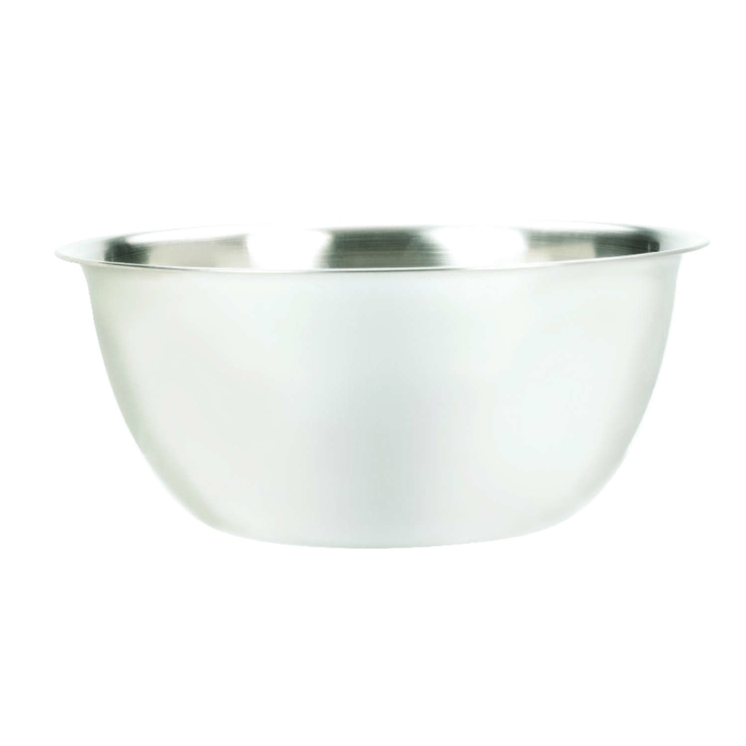 Fox Run  6.25 qt. Stainless Steel  Silver  Mixing Bowl  1 pc.