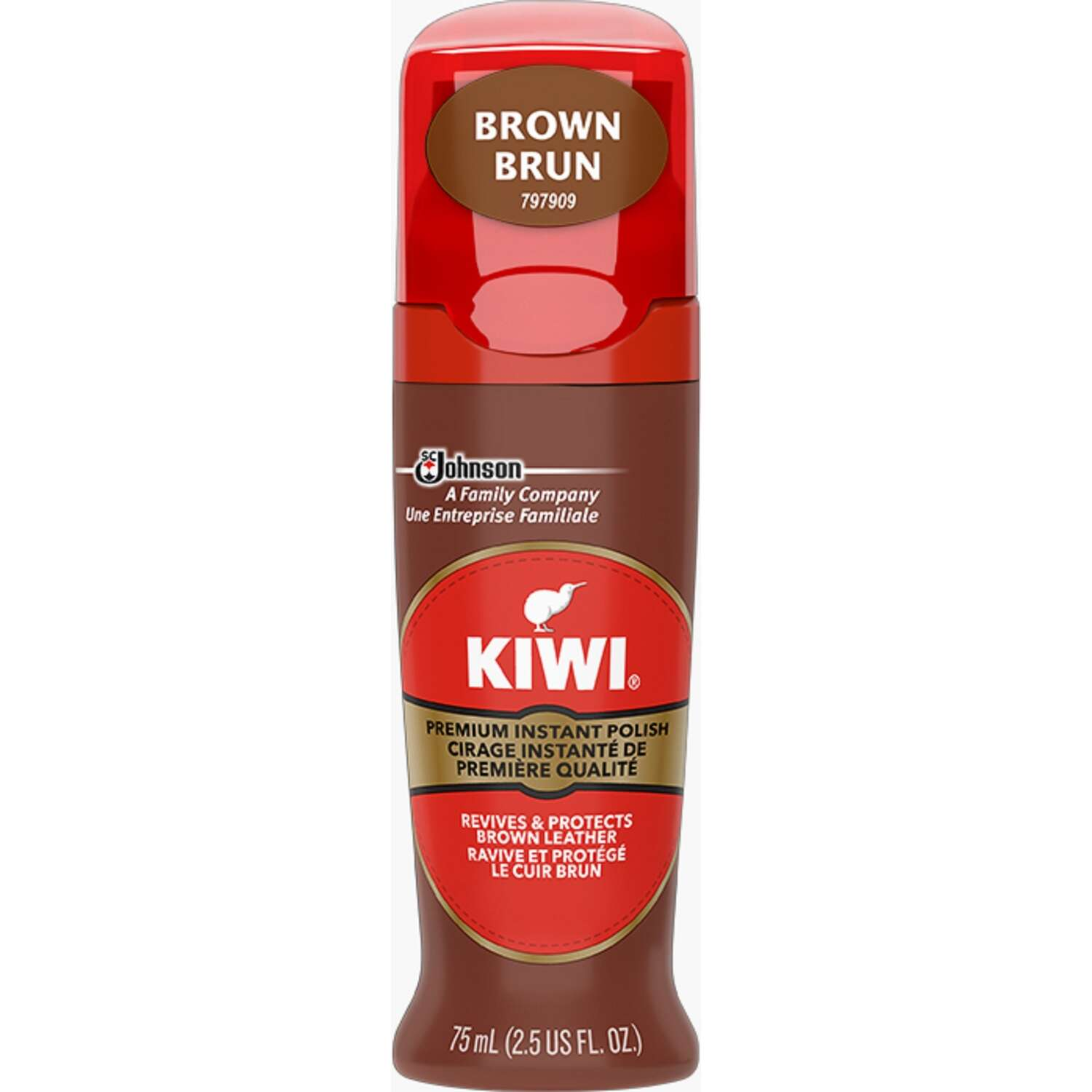 Kiwi  Color shine  Brown  Shoe Shine  2.5 oz.
