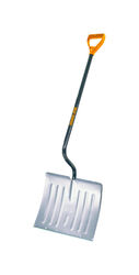 Ames  True Temper  Aluminum  52 in. L x 18 in. W Snow Shovel