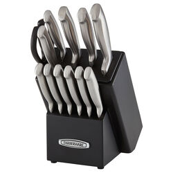 Farberware  Edgekeeper Pro  Assorted in. L Carbon Steel  Knife Set  13 pc.