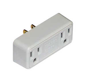 Thermocube  Non-Polarized  2  Surge Protection 1 pk Outlet Converter