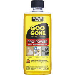 Goo Gone Pro-Power Adhesive Remover 8 oz. Liquid