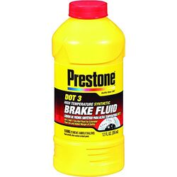 Prestone DOT 3 Brake Fluid 12 oz.