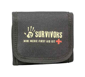 12 Survivors  First Aid Kit  60 pc.