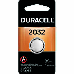 Duracell  Lithium  2032  3 volt Security and Electronic Battery  1 pk