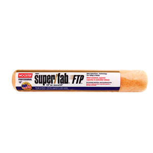 Wooster  Super/Fab FTP  Synthetic Blend  3/4 in.  x 18 in. W Regular  Paint Roller Cover