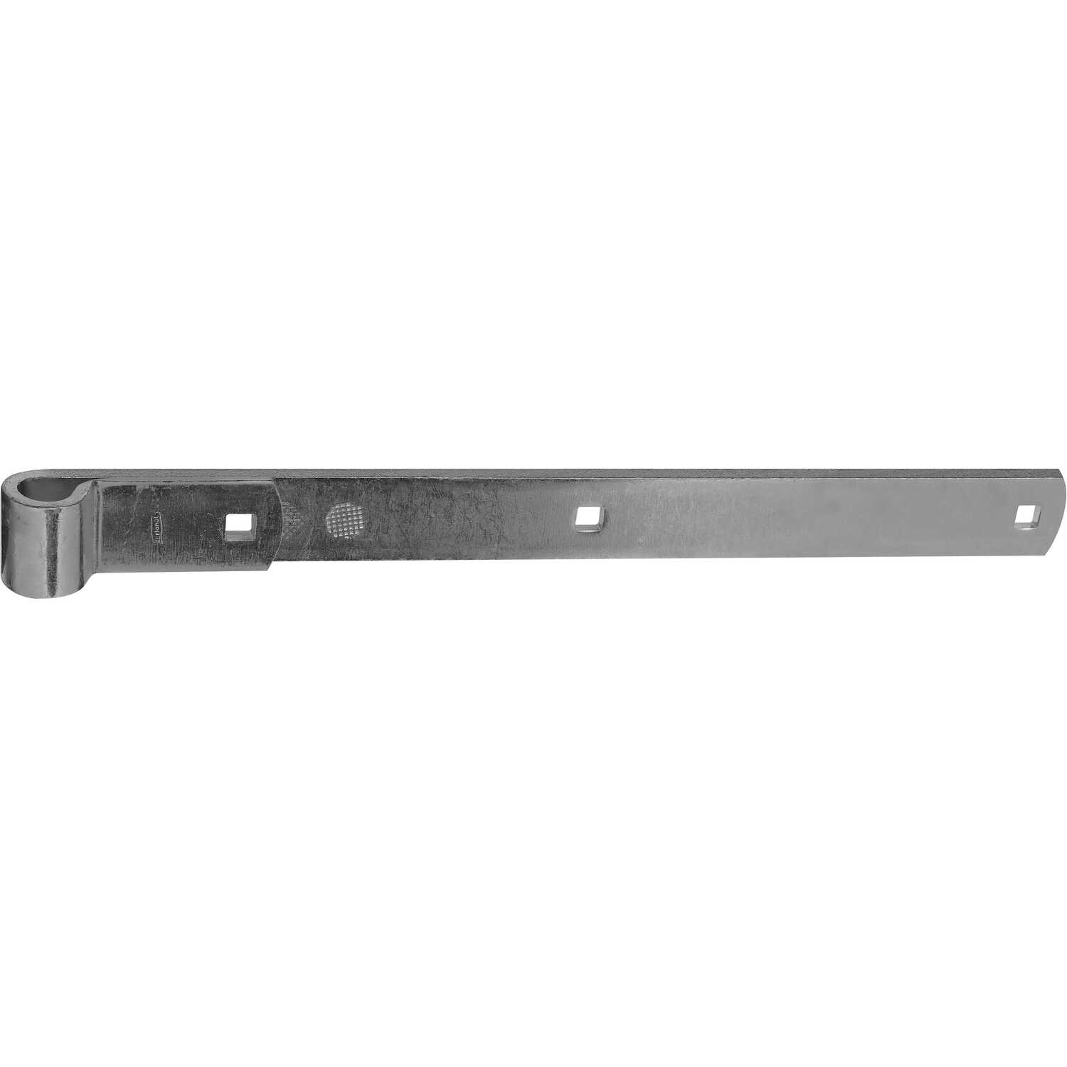 National Hardware  16 in. L Zinc-Plated  Steel  Hinge Strap  1 pk