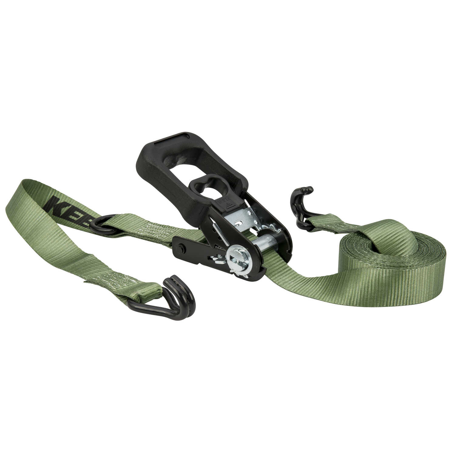 Keeper  12 ft. L Green  Tie Down Strap  1000 lb. 1 pk