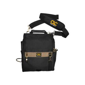 CLC  4 in. W x 15.25 in. H Polyester  Electrician's Pouch  21 pocket Black/Tan  1 pc.