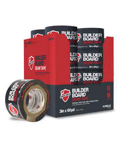 Builder Board  3 in. W x 180 ft. L Seam Tape  Brown
