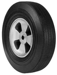Arnold  10 in. Dia. 175 lb. capacity Wheelbarrow Tire  Rubber  Offset
