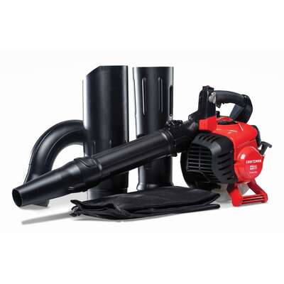 Craftsman  41AR7BVM791  205 mph 450 CFM Gas  Handheld  Leaf Blower/Vacuum  Kit