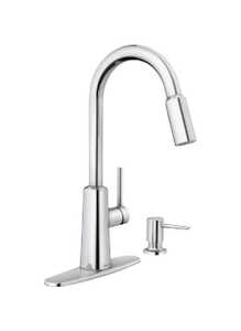 Moen  Nori  One Handle  Chrome  Pulldown Kitchen Faucet