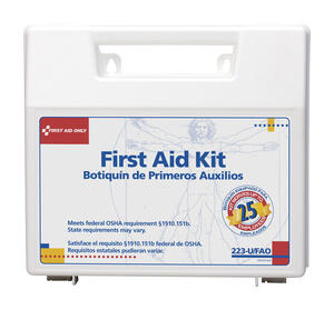 First Aid Only  25 Person First Aid Kit  107 count