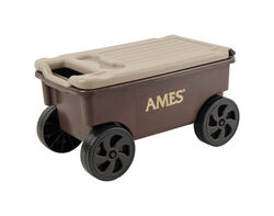 Ames  Lawn Buddy  Poly  Lawn Cart  2 cu. ft.