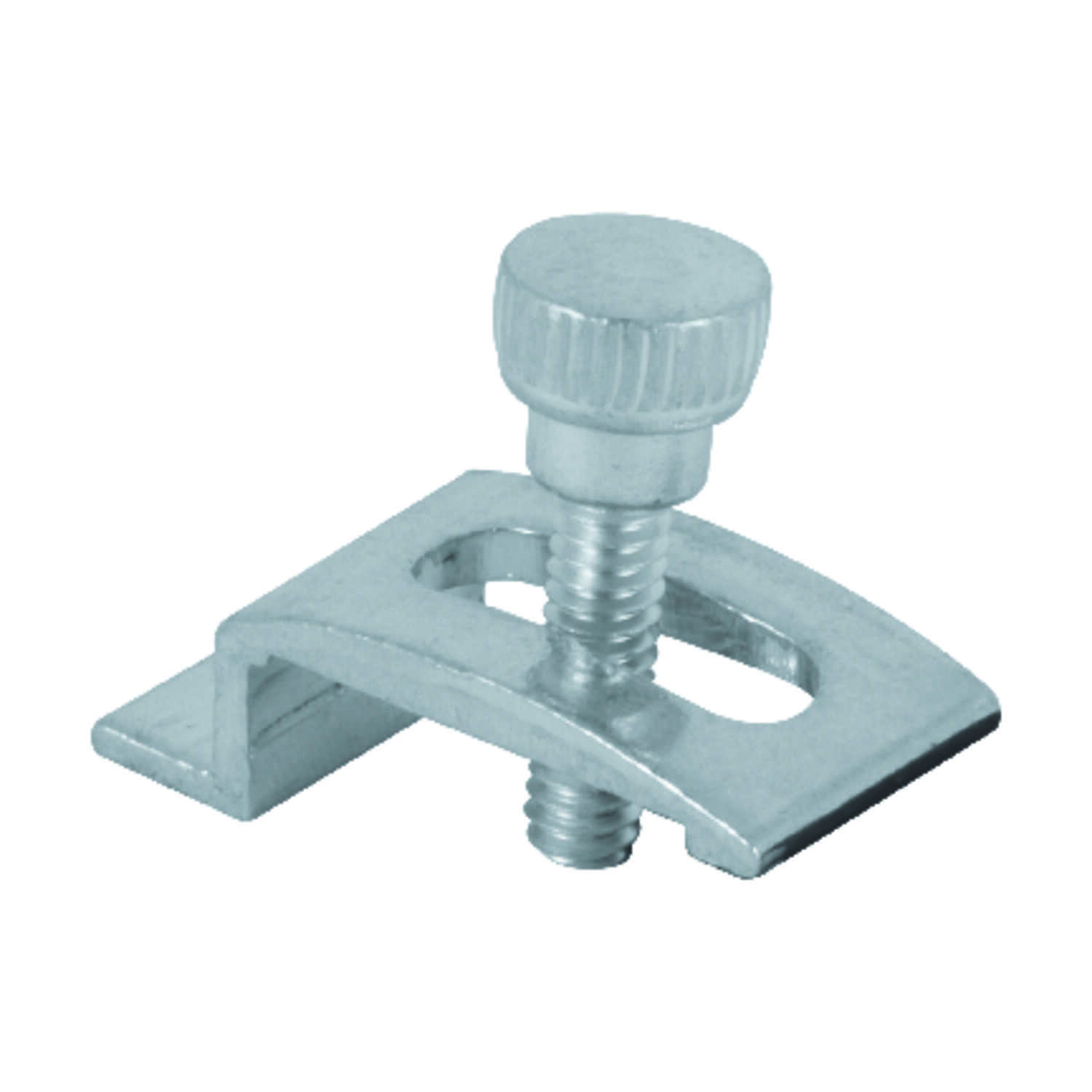 Prime-Line  Mill  Aluminum  Panel Clip  For 1/2 inch 4 pk
