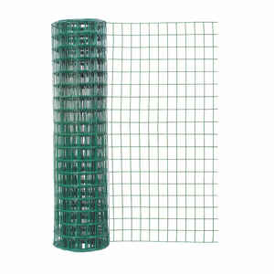 Garden Zone  48 in. H x 50 ft. L Steel  Garden  Fence  Green
