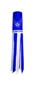 In the Breeze  US Air Force  Windsock  40 in. H x 6 in. W