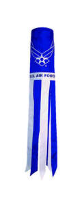 In the Breeze  US Air Force  6 in. W x 40 in. H Windsock