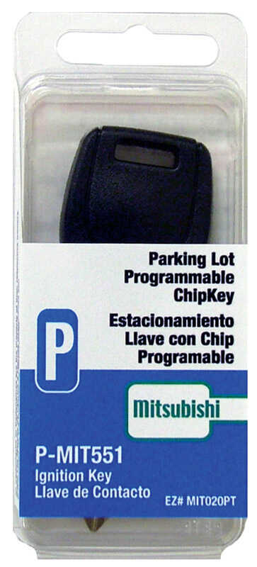 Hy-Ko  Automotive  Chipkey  EZ# MIT020PT - P-MIT551  Single sided For Mitsubishi