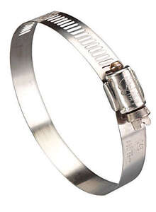 Ideal  11/13 in. 1-1/2 in. Stainless Steel  Hose Clamp