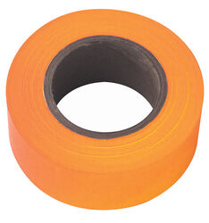 Irwin  Strait-Line  150 ft. L PVC  Flagging Tape  Glo Orange