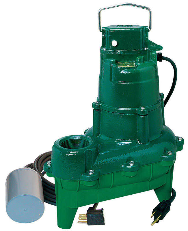 Zoeller  4/10 hp 5400 gph Cast Iron  Submersible Sump Pump