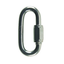 Campbell Chain  Polished  Stainless Steel  Quick Link  1540 lb. 3 in. L