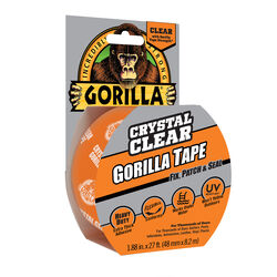 Gorilla 1.88 in. W x 9 yd. L Tape Clear