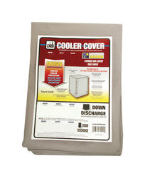 Dial  42 in. H x 37 in. W Polyester  Gray  Evaporative Cooler Cover
