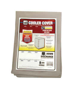 Dial  42 in. H x 37 in. W Gray  Evaporative Cooler Cover  Polyester