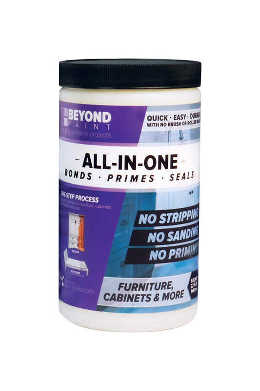 BEYOND PAINT  All-In-One  Matte  Buttercream  Water-Based  Acrylic  One Step Paint  1 qt.