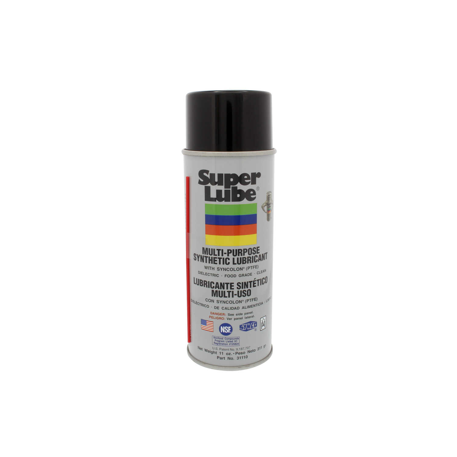 Super Lube  Synthetic  Lubricant  Can  11 oz.