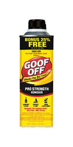 Goof Off  Pro Strength  Liquid  Adhesive Remover  20 oz.