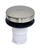 Danco  5/16 in. Dia. Brushed Nickel  Plastic  Tub Stopper