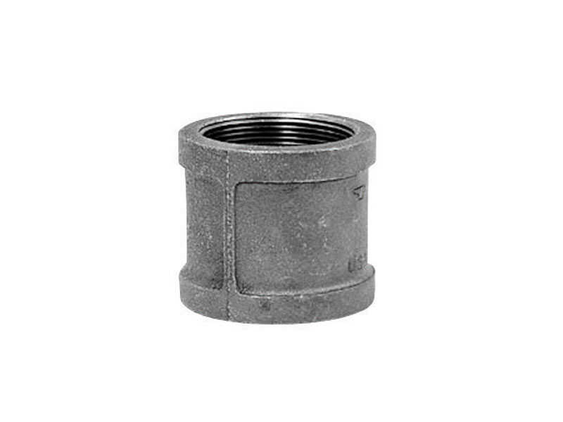 Anvil  2 in. FPT   x 2 in. Dia. FPT  Galvanized  Malleable Iron  Coupling