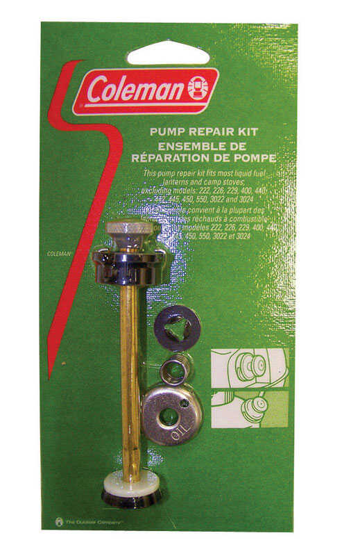 Coleman  Assorted  Pump Repair Kit  .5 in. H x 2 in. W x 8 in. L