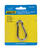 Seachoice  Stainless Steel  2-1/2 in. L x 1/4 in. W Safety Spring Hook  1 pk