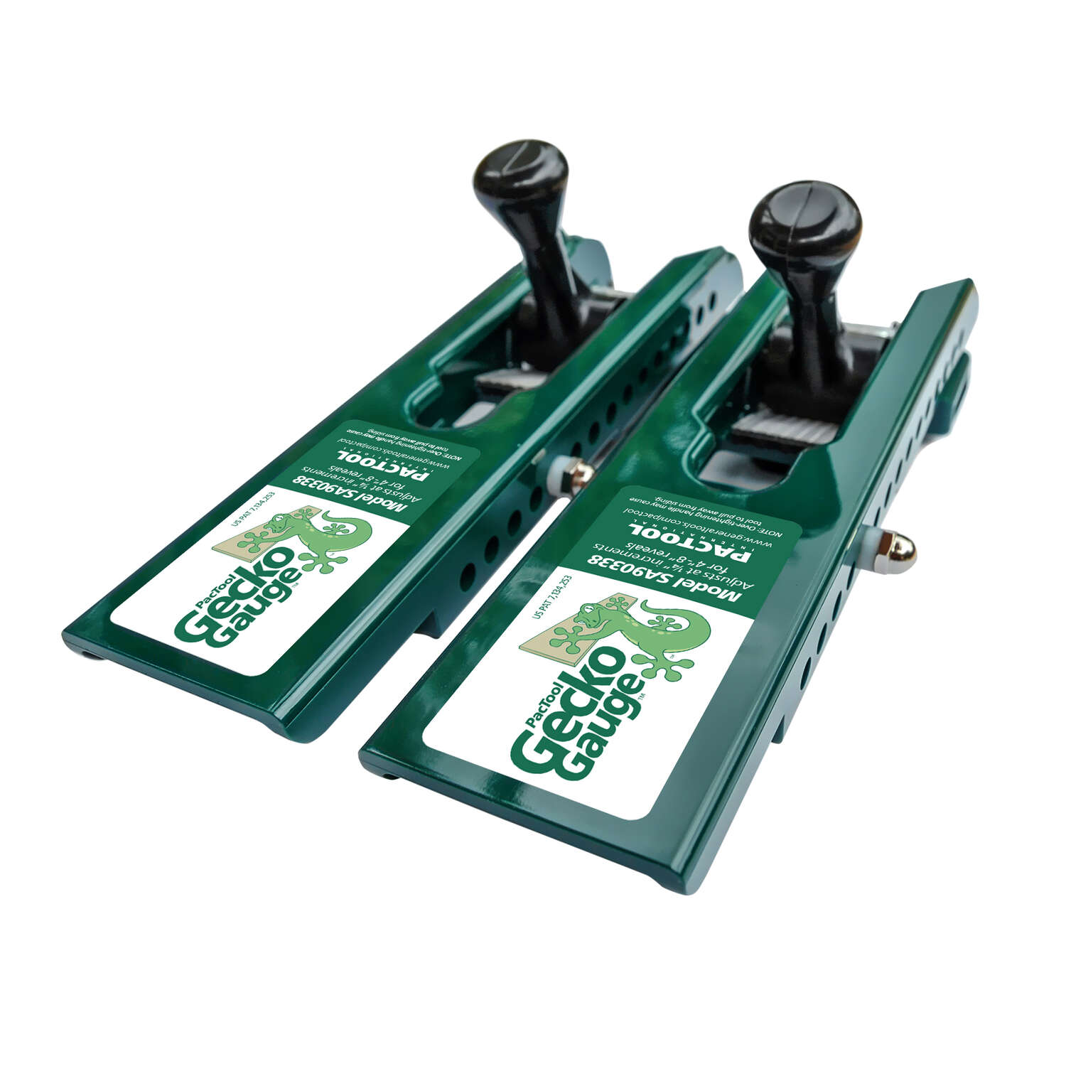 PacTool Gecko Gauge 8 in. x 3/8 in. D LP Siding Tool 2 pk