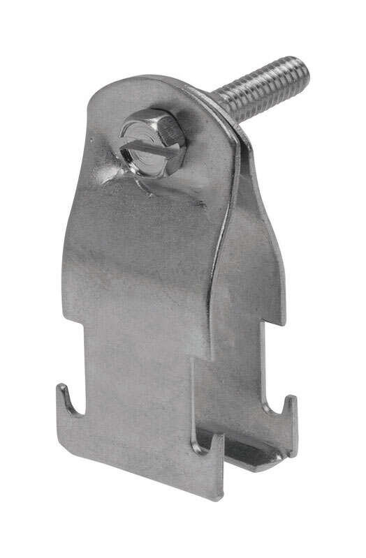 Unistrut  3/4 in. Steel  Conduit Clamp  1 pk