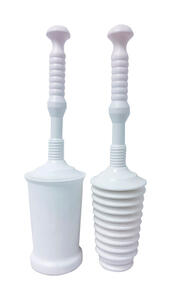 Master Plunger  Toilet Plunger with Holder  18-1/2 in. L x 3 in. Dia.
