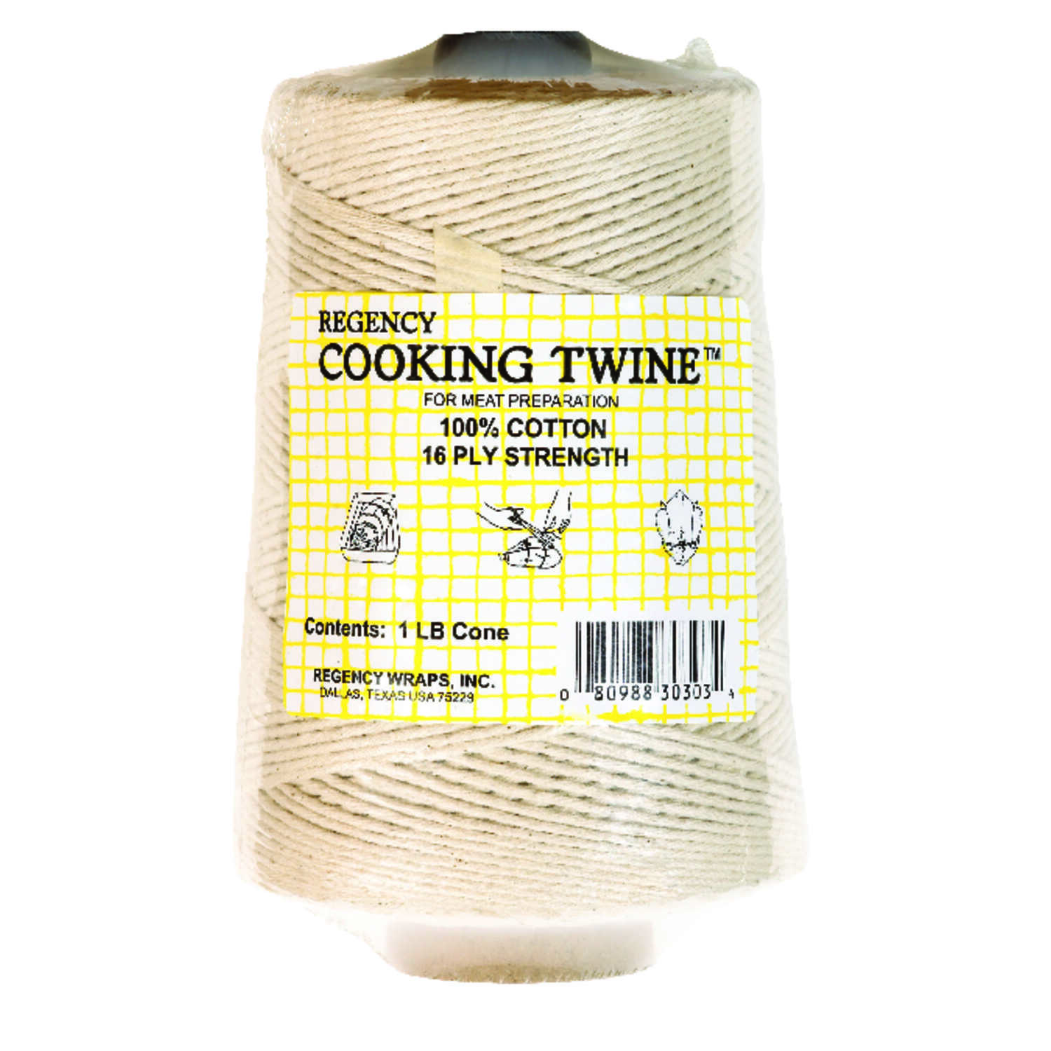 Harold Import  Regency  1,140 in. L Natural  Cotton  Cooking Twine  1 pk