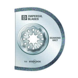 Imperial Blades  Starlock  2-5/16 in. L x 1-3/8 in. Dia. Diamond Grit  Segmented  Round  Oscillating